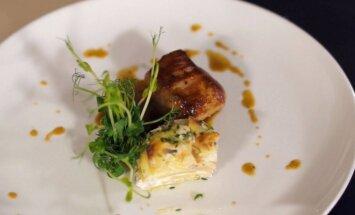 Kiaulienos kepsnys Filet Mignon su prancūzišku bulvių apkepu