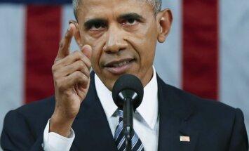 B. Obamos paskutinis metinis pranešimas Kongrese
