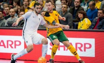 Salės futbolas Lietuva - Prancūzija