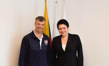 Genadijus Sokolovas ir Daina Gudzinevičiūtė