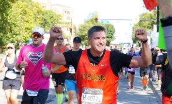 24 lietuvių bėgikai dalyvavo Čikagos maratone (I. Astromskaitės nuotr.)