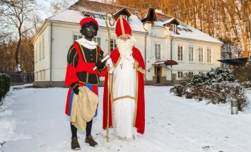 Sinterklaas at the Dutch Ambassador's Residence