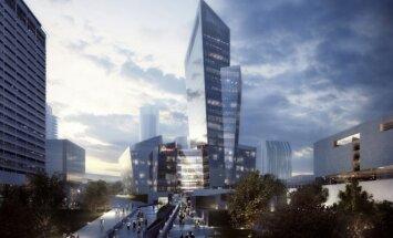 Konstitucijos g. 18B pastato architektūros idėja