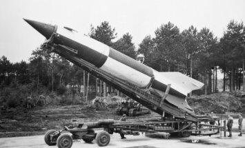 Raketa V-2 ruošiama startui