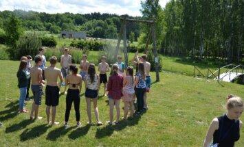In a summer camp