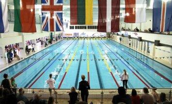 Girstučio baseine antrą kartą vyksta Lietuvos plaukimo čempionatas