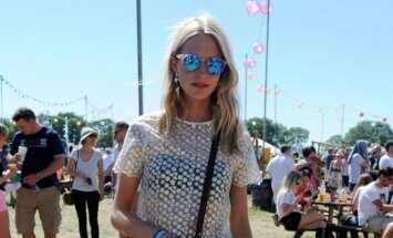 Poppy Delevingne – stilinga muzikos festivalių lankytoja