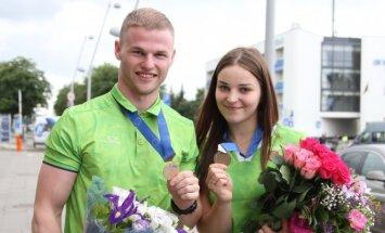 Vasilijus Lendelis ir Miglė Marozaitė (Tomo Gaubio nuotr.)
