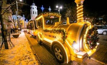 Fotografuokite kalėdinį traukinuką ir laimėkite prizus
