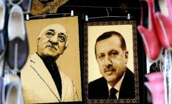 Fethullahas Gulenas ir Recepas Tayyipas Erdoganas