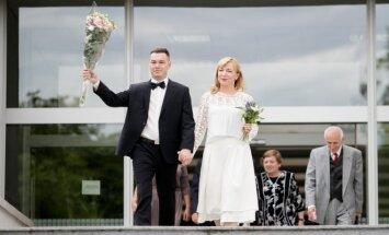 Deivido Gnedino ir Agnės Sunklodaitės vestuvės