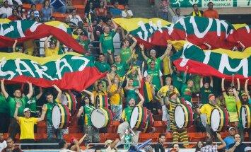 Lietuvos krepšinio rinktinės fanai