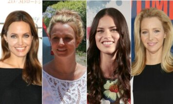 Angelina Jolie, Britney Spears, Adriana Lima, Lisa Kudrow