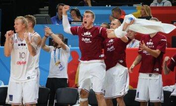 Europos krepšinio čempionatas 2015. Latvija - Slovėnija