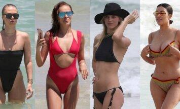 Bianca  Elouise, Hanna Ivanova, Devona Windsor, Kim Kardashian