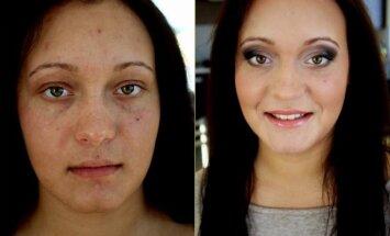 Kaip sulyginti veido odos spalvą? (nuotr. ir makiažas Dianos Vareikaitės)