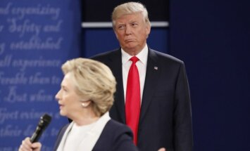 H. Clinton ir D. Trumpo debatai