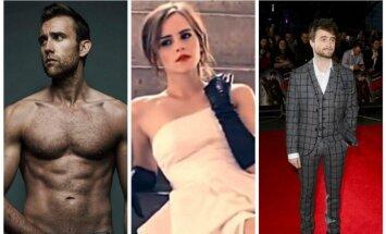 Matthew Lewis, Emma Watson, Danielis Radcliffas