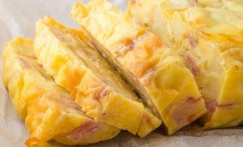Sūrio ir kumpio pyragas