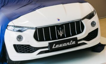 Maserati Levante pristatymas