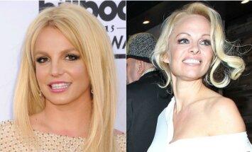 Britney Spears ir Pamela Anderson
