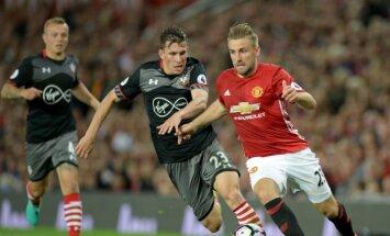 Futbolas: Southampton – Manchester United