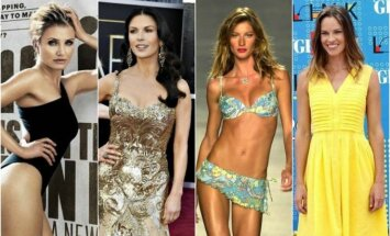 Cameron Diaz, Catherine Zeta-Jones, Gisele Bundchen, Hilary Swank