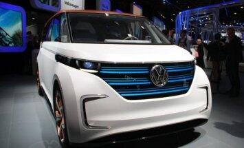 Koncepcinis elektromobilis Volkswagen I.D. (asociatyvi nuotr.)