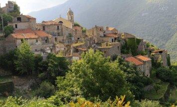 Balestrino miestelis Italijoje