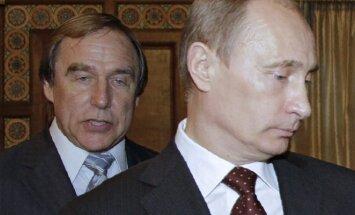 Sergei Roldugin and Vladimir Putin