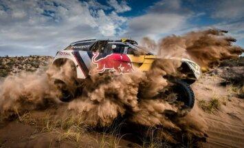 Peugeot 3008 DKR Dakaro ralyje