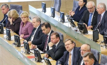 The Government's Hour at the Seimas