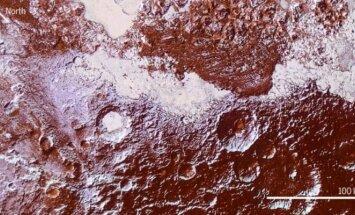 Plutono paviršiaus nuotrauka