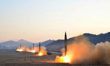 Šiaurės Korėjos raketų bandymai