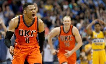 R. Westbrookas padarė tai, kas atrodė neįmanoma.