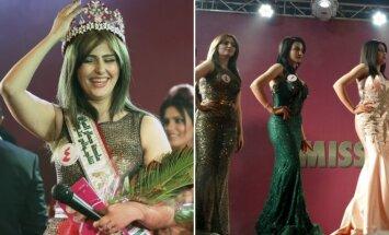 Irako sostinėje Bagdade pirmą kartą po 1972 m. vyko grožio konkursas.