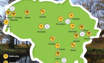 Uodų žemėlapis