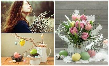 Pavasarinės puokštės