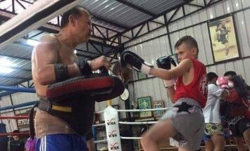 Lietuvos muaitai kovotojai Tailande