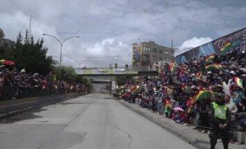 Bolivija pasitinka Dakaro dalyvius
