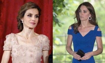 Ispanijos karalienė Letizia ir Kembridžo hercogienė Catherine