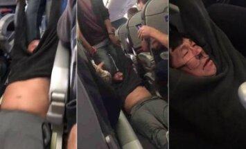 """""""United Airlines"""" keleivis"""