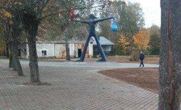 Skulptūra ugniagesiams