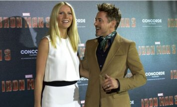Robertas Downey jaunesnysis ir Gwyneth Paltrow