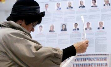 Prasidėjo rinkimai į Rusijos parlamentą
