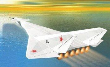Strateginio atominio bombonešio M-30 koncepcija