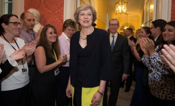 Theresa May su vyru Philipu Johnu
