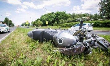 Motociklo avarija (asociatyvi nuotr.)