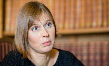 Estijos prezidentė Kersti Kaljulaid