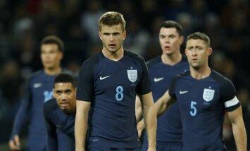 Anglijos rinktinės futbolininkai